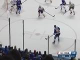 [NHL]蓝调落阵地进攻 特拉申科打门扳平比分
