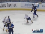 [NHL]蓝调多打少 莱赫特拉乱阵中扳平比分
