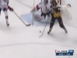 [NHL]马尔金转身背向大门推射 企鹅队扳平比分