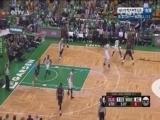 [NBA]邓台-琼斯上篮不中 詹姆斯-琼斯补扣打进