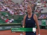[法网]女单第三轮:罗杰斯VS梅拉德诺维奇 2