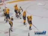 [NHL]小将金瑟尔门前推射得分 企鹅队先进一球