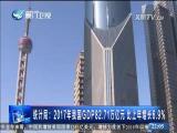 《2018中国开启新征程》之 中国经济新气象 引领中国发展加速度 两岸直航 2018.2.17 - 厦门卫视 00:28:39
