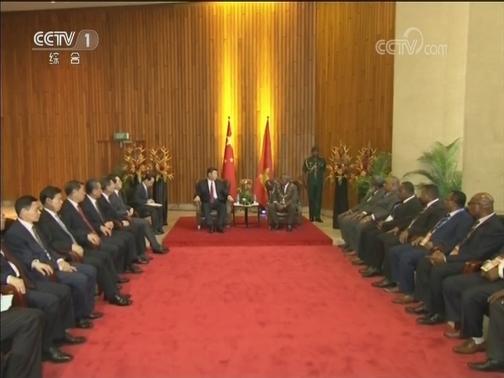 [视频]习近平会见巴布亚新几内亚总督