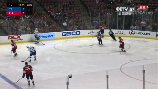[NHL]常规赛:坦帕湾闪电VS佛罗里达美洲豹 第一节