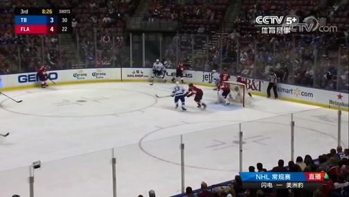 [NHL]常规赛:坦帕湾闪电VS佛罗里达美洲豹 第三节