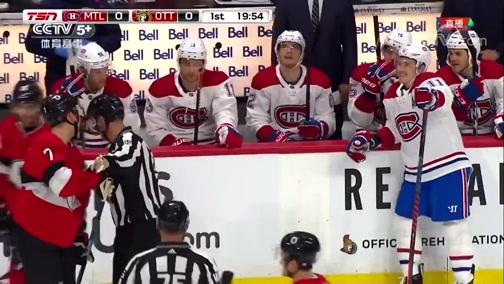 [NHL]常规赛:蒙特利尔加拿大人VS渥太华参议员 第一节