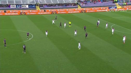 [意甲]第32轮:佛罗伦萨VS博洛尼亚 上半场