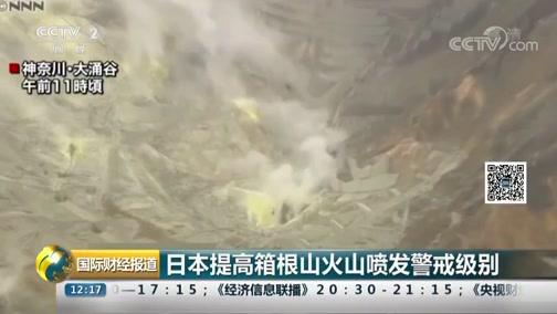 [国际财经报道]日本进步箱根山火山喷发当心级别