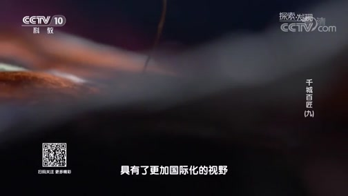 《探索发现》 20190620 千城百匠(九)
