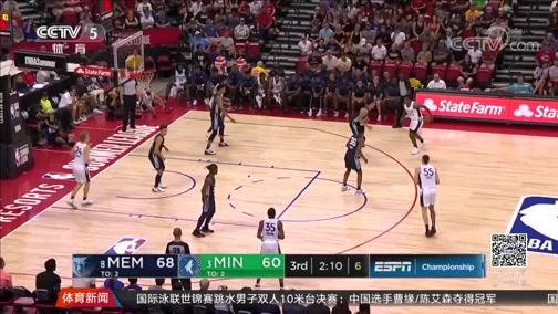[NBA]灰熊夺得2019年NBA夏季联赛冠军(新闻)