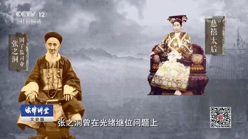 《法律讲堂(文史版)》 20190730 清光绪年东乡悬案(六)重新定性