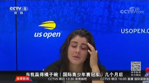 [美网]横扫小威夺冠 19岁小将的成功蜕变