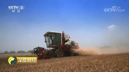 [深度财经]种粮大户常常到地里查看收割时机 农业税减免等政策带来新希望