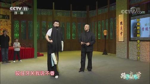 《跟我学》 20191119 舒桐教京剧 《李逵下山》(五)