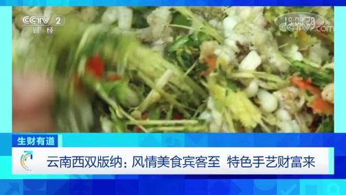 《生财有道》 20200113 云南西双版纳:风情美食宾客至 特色手艺财富来