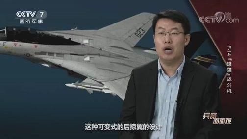 """《兵器面面观》 20200407 F-14""""雄猫""""战斗机"""
