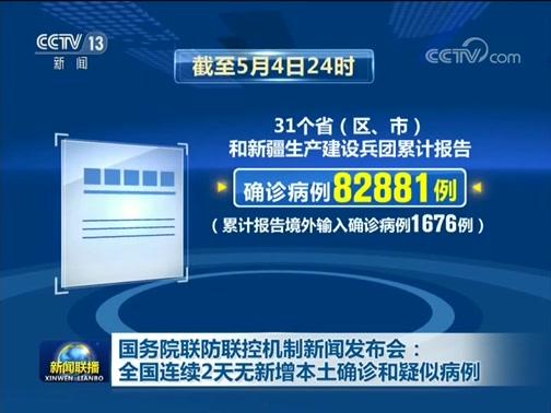 《新闻联播》 20200505 19:00