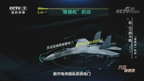 """《兵器面面观》 20200615 苏霍伊的""""侧卫""""家族——苏-27战斗机"""