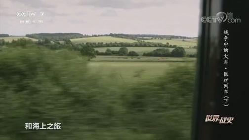 《世界战史》 20200619 战争中的火车 医护列车(下)