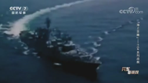 """《兵器面面观》 20200626 """"海上金雕""""——1134系列战舰"""