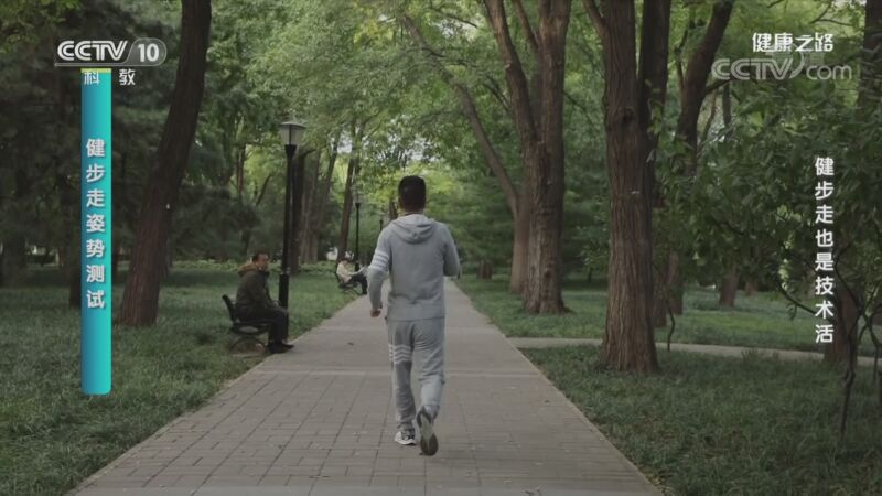《健康之路》 20201122 健步走也是技术活
