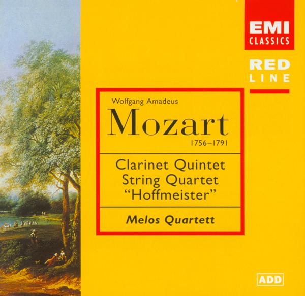 莫扎特 单簧管五重奏,弦乐四重奏, 霍夫迈斯特