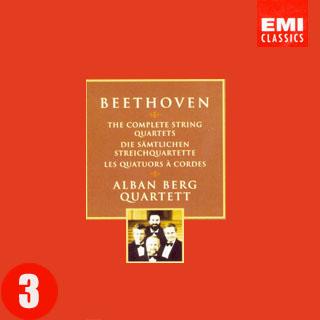 贝多芬弦乐四重奏集 阿尔班 贝尔格四重奏团 III