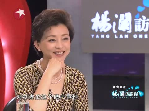 """[杨澜访谈录]刘老是很""""绕""""的同志 20121123"""