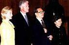 1998<br>Visite d´Etat de Bill Clinton à Beijing
