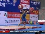[视频]全运举重:沉着稳定 小将杨哲夺得冠军