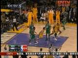 湖人VS凯尔特人第7场第2节2010NBA总决赛