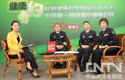 """""""和平方舟""""医院船揭秘:访海军总医院院长钱阳明"""
