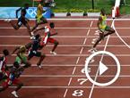 2008年北京奥运会,博尔特先后打破100米、200米世界纪录……
