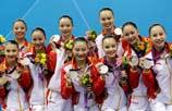 中国花游队