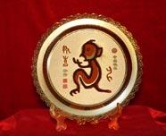 胡秉仁作品:中国古文字生肖系列