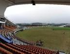 ملعب الكربكيت في مدينة الجامعة بقوانغتشو