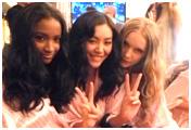 Entre bastidores del desfile de modas de Victoria''s Secret