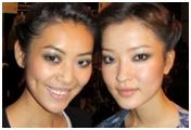 Liu Wen y la modelo china Du Juan