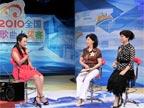 """""""2010年儿童歌曲大奖赛""""的总导演邬纯芳、著名作曲家张卓娅"""