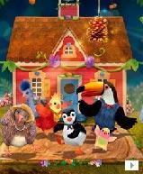 小鸟3号<br>故事叙述在小鸟街3号里,一群可爱的小鸟们,每天发生的有趣故事,以鲜明色彩及逗趣声音表情吸引儿童!