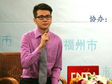 主持人汪昂采访徐卫喜书记