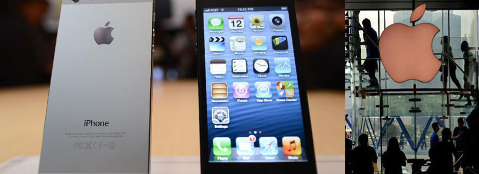 Apple iPhone 5 on sale in China by December