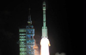 Tiangong-1 blasted off from Jiuquan Satellite Launch Center