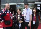 保加利亚工作人员:我会再回到上海