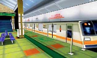 La construction des métros