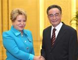 La Chine et la Russie veulent intensifier leur coopération