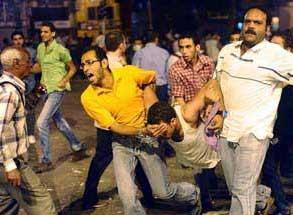 La situation en Egypte n´est pas encourageante