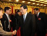 """Le président chinois Hu Jintao: """"La Chine doit établir un système social de santé couvrant l´ensemble du peuple et encourager la réforme des hôpitaux publics"""""""
