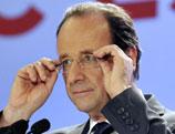 François Hollande devient le deuxième chef de l´Etat français issu du Parti socialiste sous la Cinquième République, après François Mitterrand.